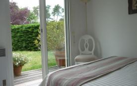 Chambre vue jardin  Lit 160
