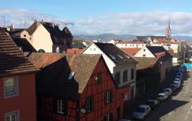 Centre ville Colmar gite avec parking privatif