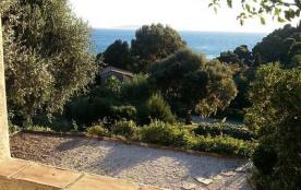 Cadre paradisiaque/Belle villa provençale avec vue mer et piscine au Rayol