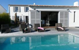 squarebreak, Villa avec piscine et jacuzzi à La Flotte-en-Ré