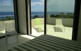 Chambre Prestige Supérieure - vue mer 360°, design exclusif, grand dressing
