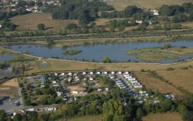 Camping du Lac de Saujon, 100 emplacements, 50 locatifs