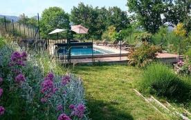 Superbe maison de vacances Piscine Privée et Chauffée en pleine campagne