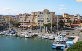 Gruissan (11) - Secteur port - Résidence les Dromadaires. Appartement 4 pièces en duplex - 72 m² ...