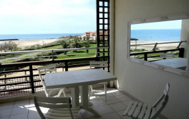 Appartement avec trois chambres résidence les roches marines au Cap d Agde