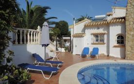 Villa confortable avec piscine privée à louer sur la côte de Benissa-Calpe (Costa Blanca). Proche d´une plage de sabl...