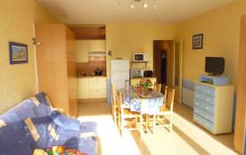 Appartement studio de 28 m² environ pour 4 personnes située à 50 m de la plage et proche centre s...