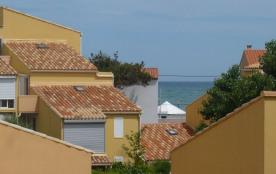 Appartement très coquet, T2 mezzanine, 5 couchages, Les Balcons de la Méditerranée, Narbonne Plage
