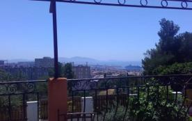 Magnifique vue sur mer et les îles du Frioul