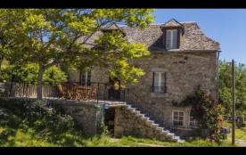 Maison 6 personnes avec terrasse à proximité d'Estaing - Maison de pays, à proximité de fermes, d...