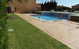 Mediterrani I - Appartement à Rosas / Roses qui possède 2 chambres et capacité pour 6 personnes.