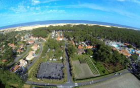 Camping Albret Plage, 130 emplacements, 30 locatifs