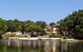 Domaine des Lacs de Gascogne, 55 emplacements, 25 locatifs
