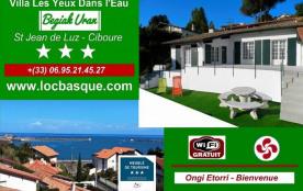Villa à SAINT JEAN DE LUZ