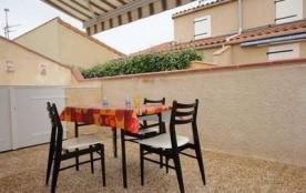 Résidence les Patios de la Plage - Pavillon 2 pièces mezzanine avec belle terrasse ensoleillée.