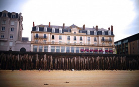 Saint Malo, le Duguay Trouin, grand appartement vu