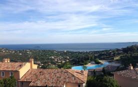 Maison splendide vue mer piscine tennis