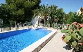 location Costa Dorada villa avec piscine sécurisée à Ametlla |camar
