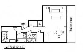 Appartement 2 pièces 4 personnes (I21)