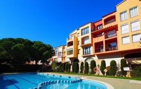 0084-BLAUCEL Apartamento en frente de la playa con piscinas comunitarias