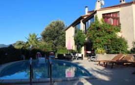 villa de reve idealement situee ,vue imprenable piscine jardin vivez des vacances magiques dans ce coin de paradis,