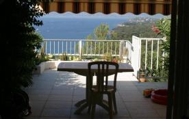 Maison dans résidence arboree -4 personne(s) - situation exceptionnelle Bord de mer - vue magnifique 180°-