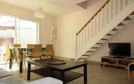 Maison mitoyenne 4-6 personnes - récente - proche océan et centre - 40600 Biscarrosse Plage