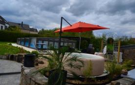 Gîte 4 épis  avec piscine couverte-chauffée, sauna, spa - Namur