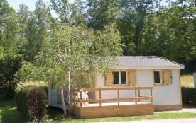 CHALET dans Camping - Hautes-Pyrénées - Prestations de Qualité