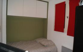 La deuxième chambre dispose d'un lit en 120/190 pouvant accueillir 2 enfants ...