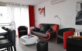 Magnifique Appartement 3P design +PARKING +VELOS. Dernier étage Entre HOTELS CARLTON & MARTINEZ