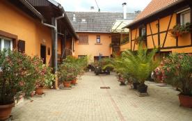 Gite à Niedernai-Centre Alsace près d'Obernai - Niedernai