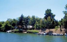 Camping La Barque, 60 emplacements, 50 locatifs
