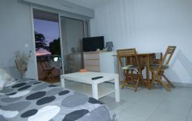 Appartement studio, WIFI, terrasse, place de parking privatif, idéale cure