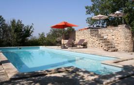Magnifique mas avec piscine chauffée et vue sur le Luberon