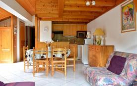 Le Grand Bornand 74 - Secteur Village - Résidence Le Cornillon B. Appartement 3 pièces de 45 m² e...