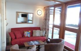 Salon avec vue sur le Mont Blanc