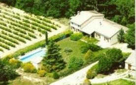 Maison indépendante au milieu des vignes bio avec piscine privée clôturée (4 x 10 - ouverte du 01...