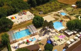Camping La Bouquerie, 57 emplacements, 140 locatifs
