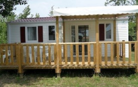 mobilhome neuf et piscine Wifi 6 personnes - La Barre de Monts