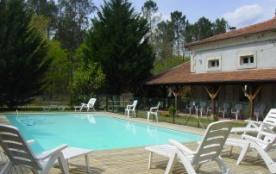 Maison de maître 18 personnes piscine chauffée