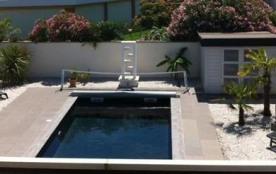 Biscarrosse plage villa avec piscine et sauna pour 6-7 personnes