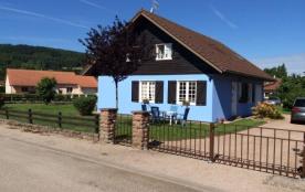 Chalet bleu