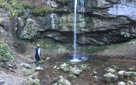 Belle promenade à la cascade