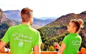 Un chalet insolite haut de gamme à la vue imprenable sur les Baronnies Provençales!