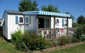 Grand Mobil home en Vendée - Piscine couverte - proche des plages