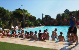 Camping Le Soleil Bleu - Chalet 2ch 6pers Standard