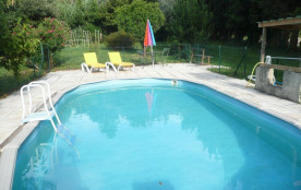 """LE """"Mas de Papé"""" avec ses 4 chambres, 10 couchages minimum et sa piscine ..."""