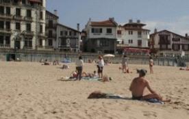 Maison face à la plage