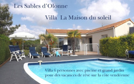 Maison du Soleil, jardin et piscine privée